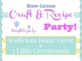 Show-Licious Craft & Recipe Party
