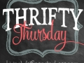 Thrifty Thursday