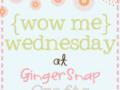 Wow Me Wednesday