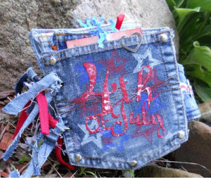 Throwback Thursday 4th of July Jean Pocket Mini
