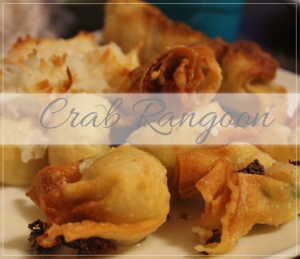 Homemade Crab Rangoon