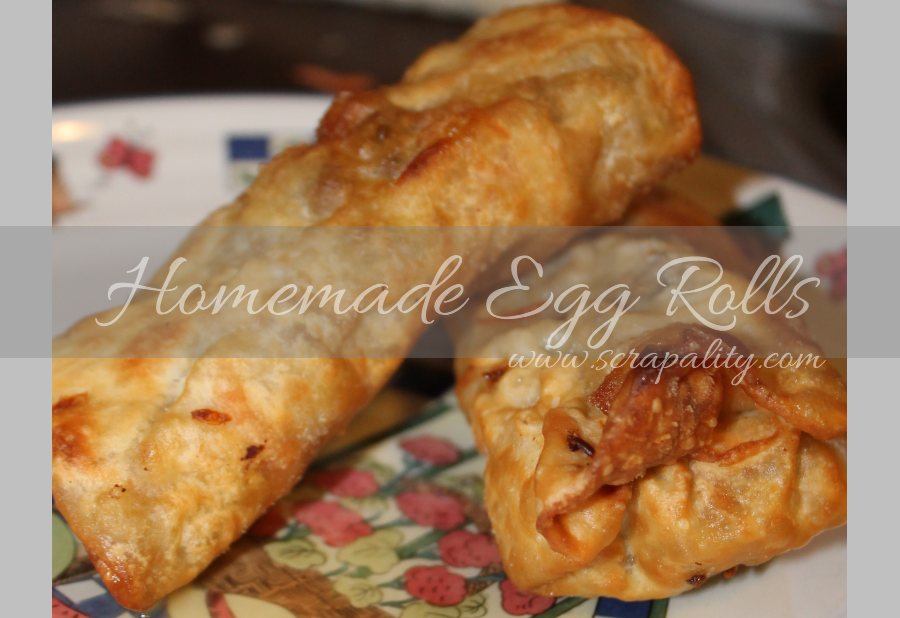 Homemade Egg Rolls
