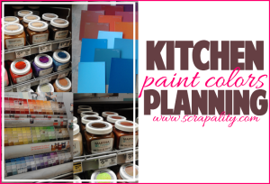 Kitchen Planning: Paint Colors