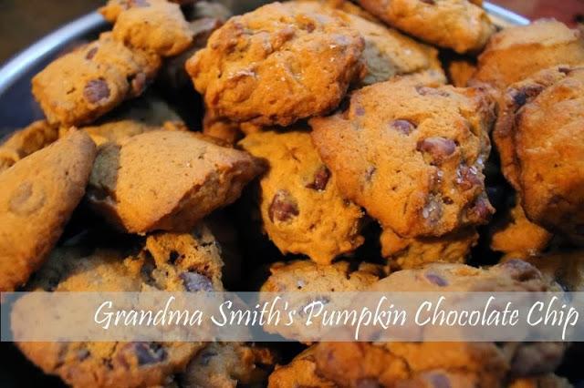 Grandma Pumpkin Chocolate Chip