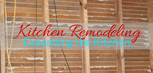 Kitchen Remodeling: Expanding the Kitchen