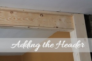 Kitchen Remodeling: Adding the Header