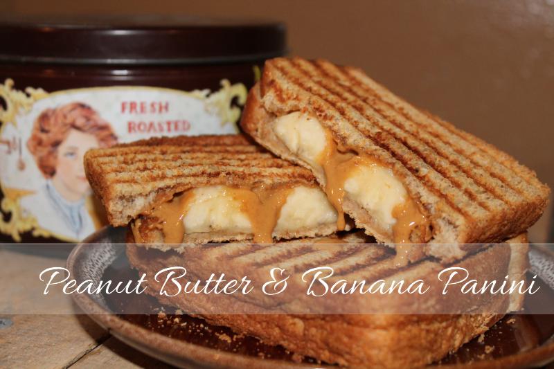 peanut butter banana panini