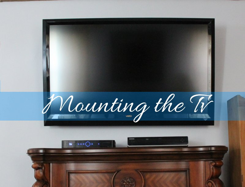 mounting the tv2
