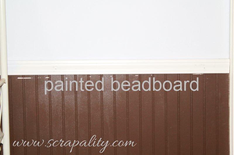 distressed beadboard