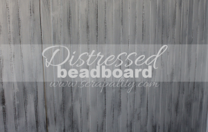 Distressing Beadboard Using the Dry Brush Method