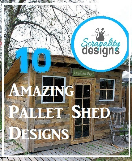 10 Pallet Shed Designs