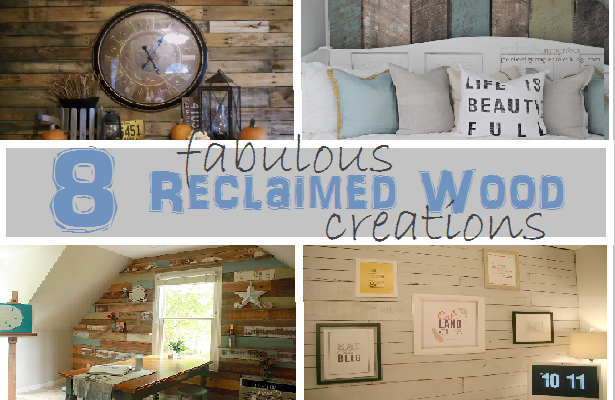 8 Fabulous Reclaimed Wood Wall Creations
