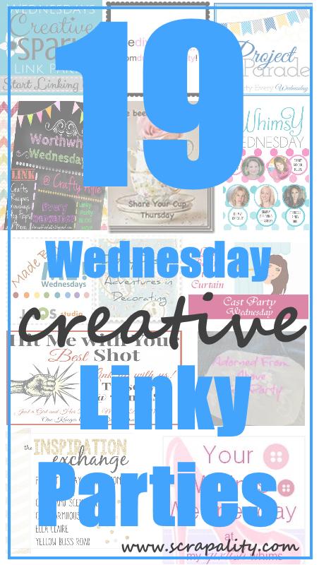 19 Wednesday Creative Linky Parties2