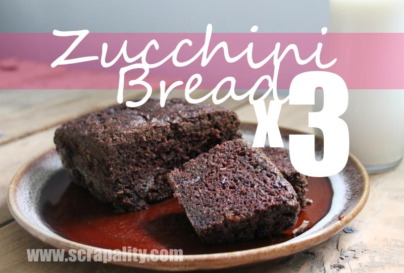 Zucchini Bread x3