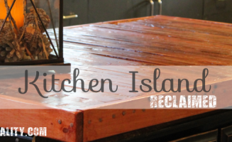Reclaimed Kitchen Island