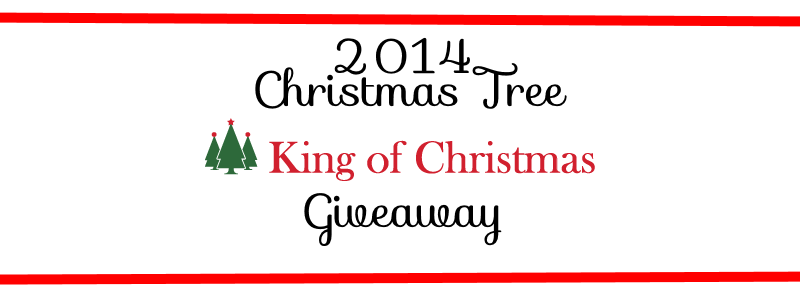 2014 Christmas Tree Giveaway from King of Christmas