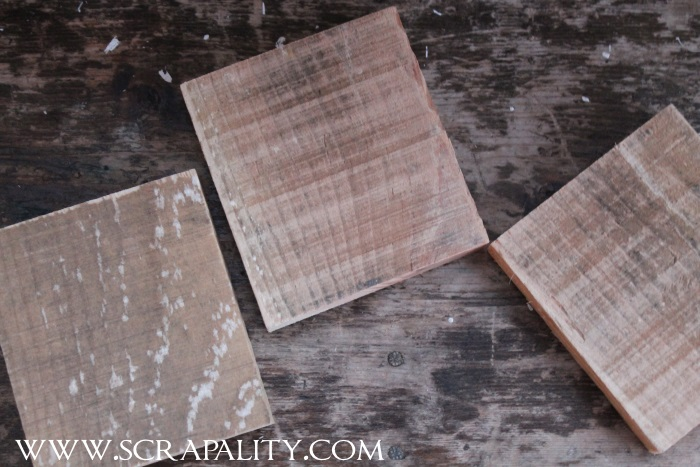 Pallet Wood Christmas Coasters2