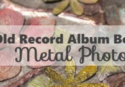 Faux Metal Photo Album10