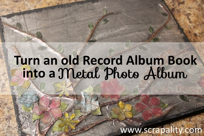 Faux Metal Photo Album2