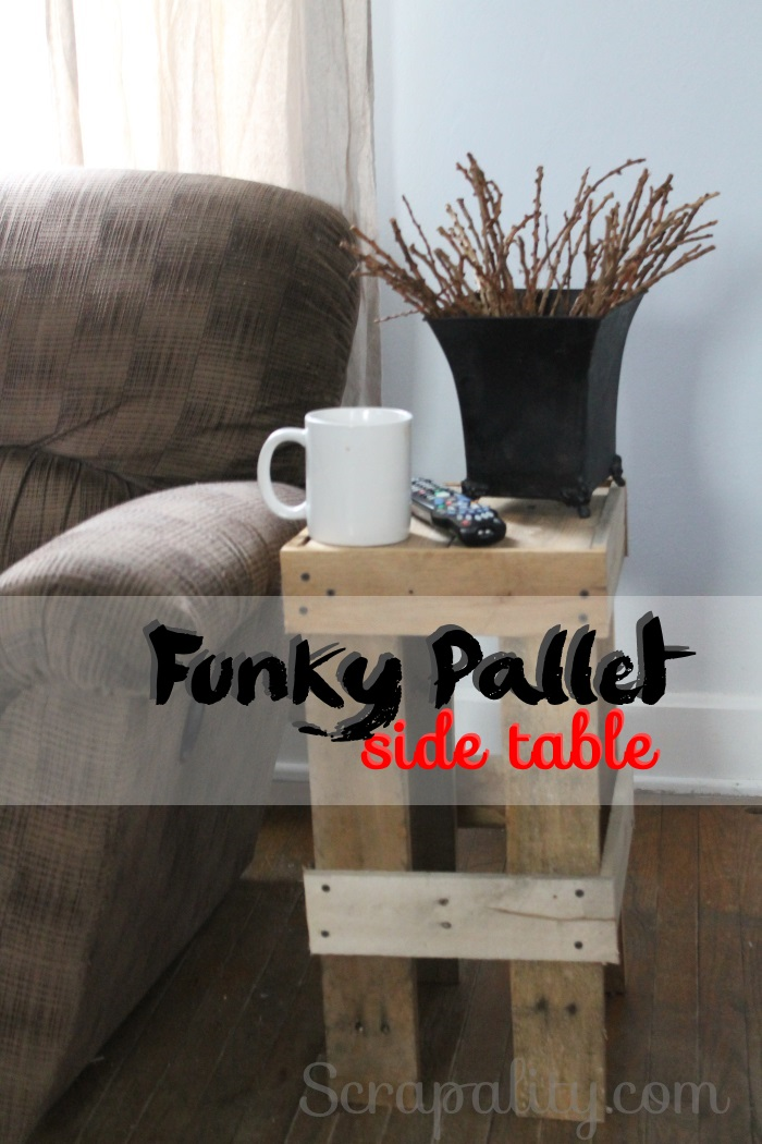 funky pallet table 6