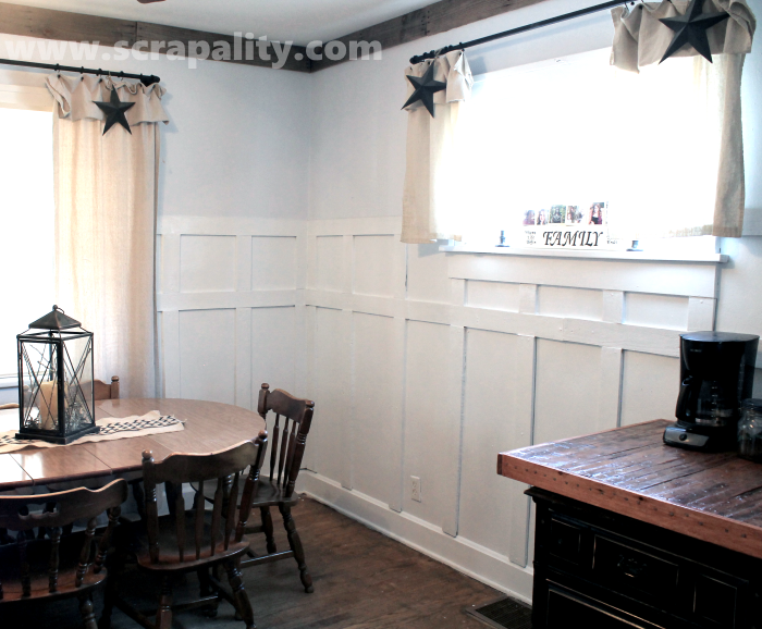 wainscoting from wooden pallets diy