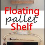 Floating Pallet Shelf