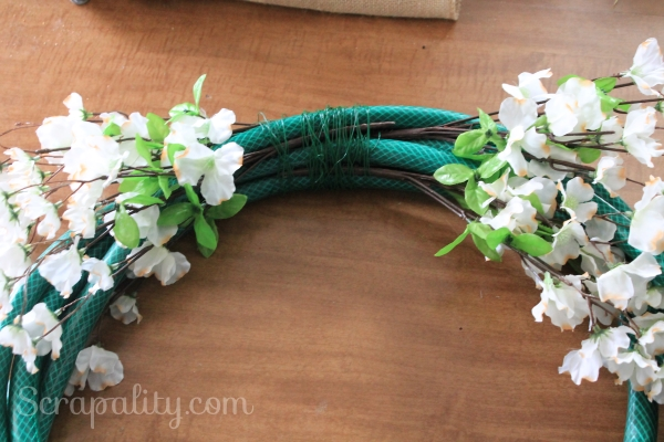 Garden Hose Wreath4