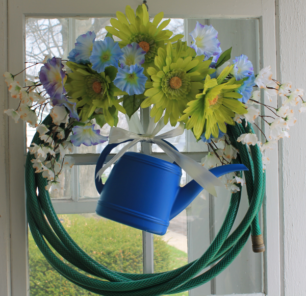 Garden Hose Wreath6