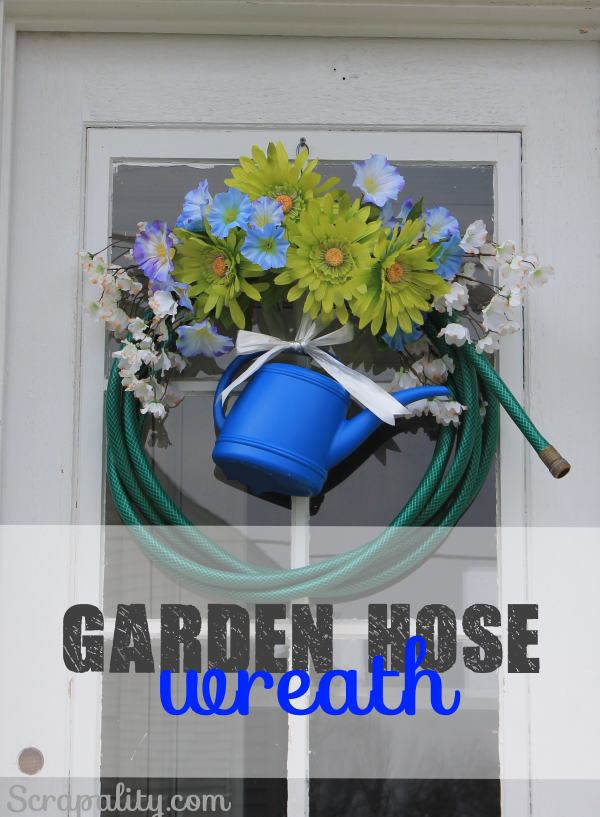 Garden Hose Wreath7