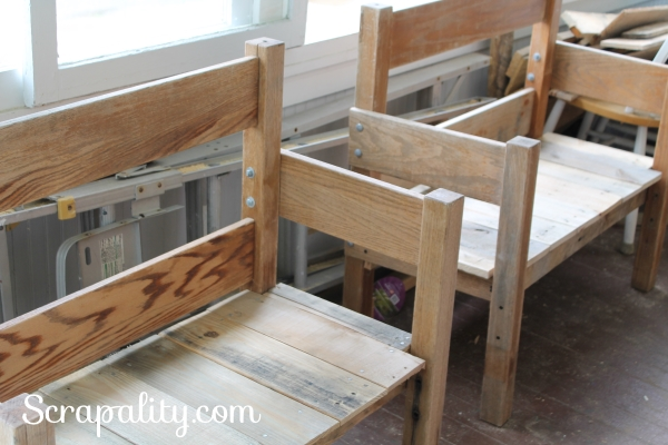 Bedframe Bench 4