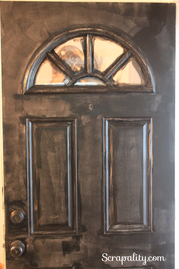 Painting the Front Door 2