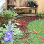 Add Reclaimed Wood to Garden Bench