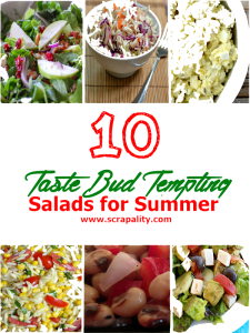 10  TasteBud Tempting Salads for Summer