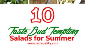 10 Tastebud Tempting Salads for Summer