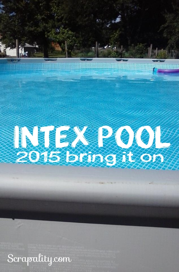 Intex Pool 2015 Its filled