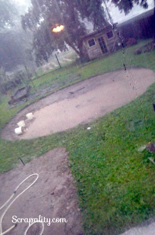 Intex Pool 2015 lots of rain