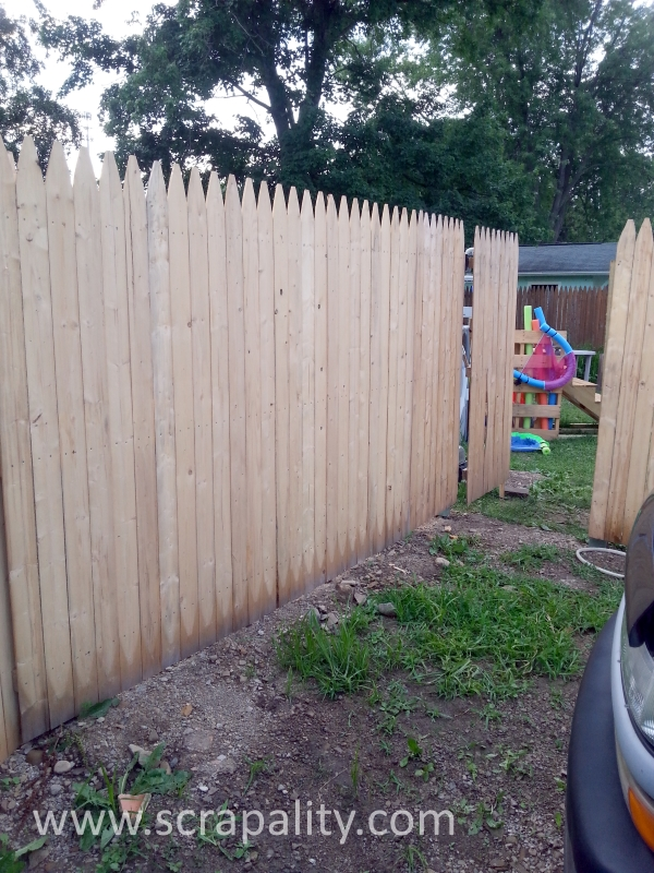 The Easy Way To Add A New Fence Scrapality
