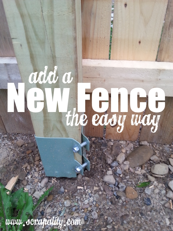 add new fence the easy way