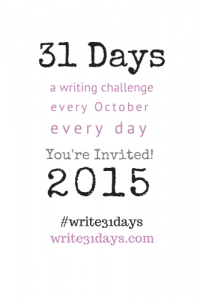 31 Days Blogging Challenge Starts Soon