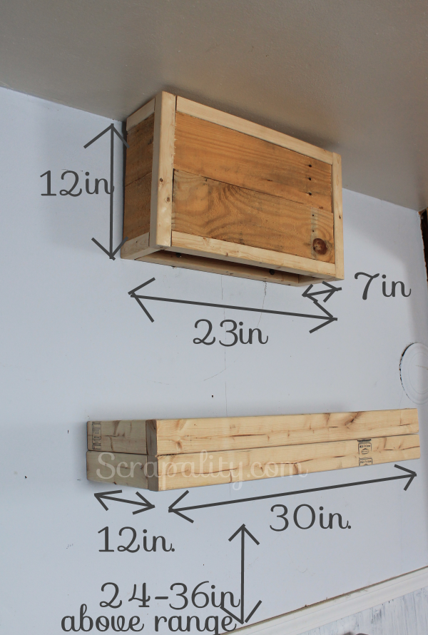 Building a Pallet Kitchen Hood