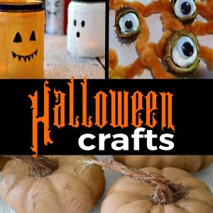 Halloween Crafts Feautred