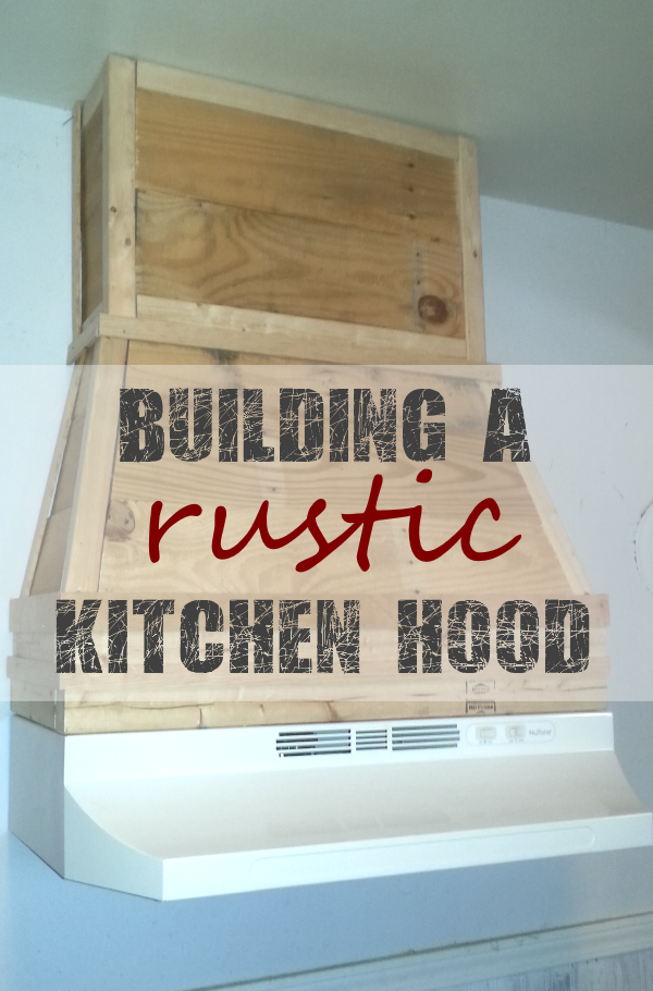 Building a Pallet Kitchen Hood From Pallet Wood