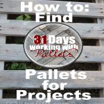 How to Find Pallets