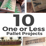 One or Less Pallet Projects