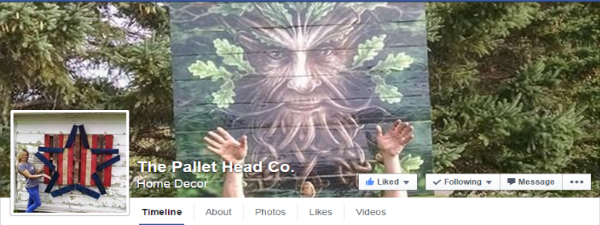 Pallet Head Co FB Page