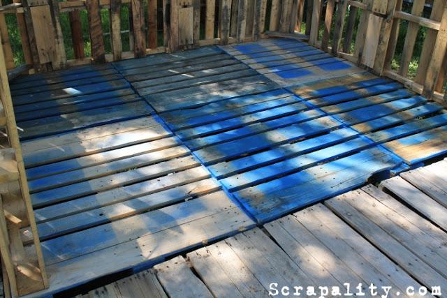 Pallet Shed Flooring