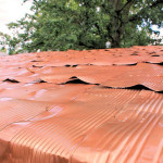Pallet Shed Tin Can Shingled Roof