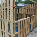 Pallet Shed Wall Frame