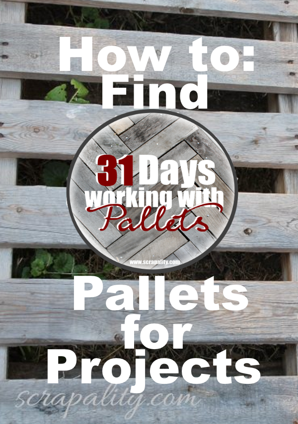 Where Do I Find Pallets for Projects