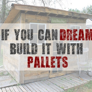 If You Can Dream It Build it with Pallets
